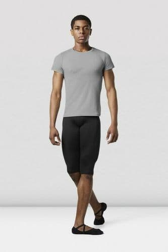 Bloch Mens Fitted Dance Fitness T-Shirt Nylon Spandex MT008